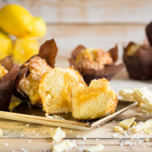 Lemon & White Chocolate Tulip Muffins 24 x 119g