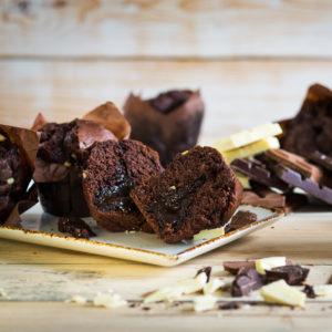 Triple Chocolate Tulip Muffins 24 x 119g