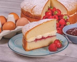Core Victoria Sponge Cake p/p 14