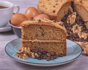 Core Coffee & Walnut Cake p/p 14