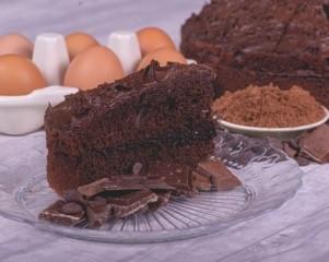 Core Chocolate Fudge Cake p/p 14