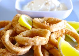 Battered Squid Rings 454g