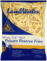 Lamb Weston Private Reserve Chips-6mm 4 x 2.5kg