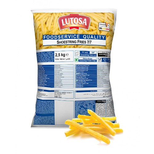 Lutosa Shoestring Chips-7mm 4 x 2.5kg