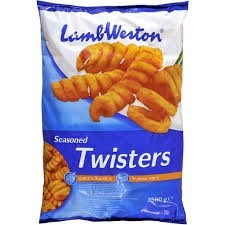 Lamb Weston Seasoned Twisters 4 x 2.5kg