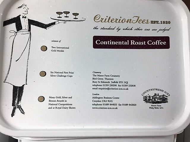 Criterion Continental Coffee Ice Cream 4ltr