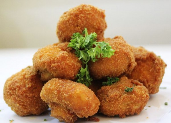 Breaded Garlic Mushrooms 1kg