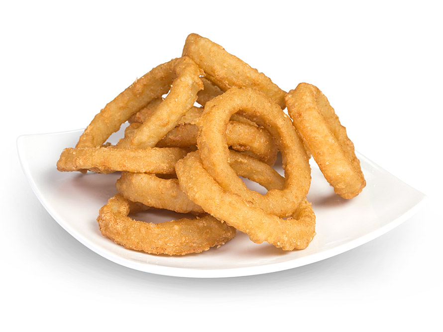 Battered Natural Onion Rings 500g