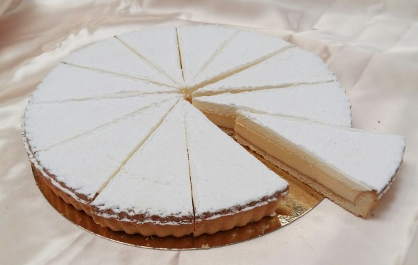 Tarte au Citron 12  Presliced Portions