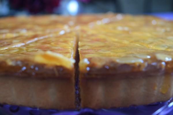 Chocolate & Pear Frangipane Tart 12  Presliced Portions