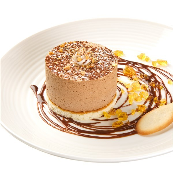 Indv Dark Chocolate & Salted Caramel Torte x 25