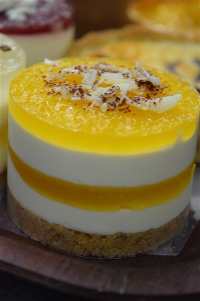 Passion Fruit Cheesecake Indv x 25