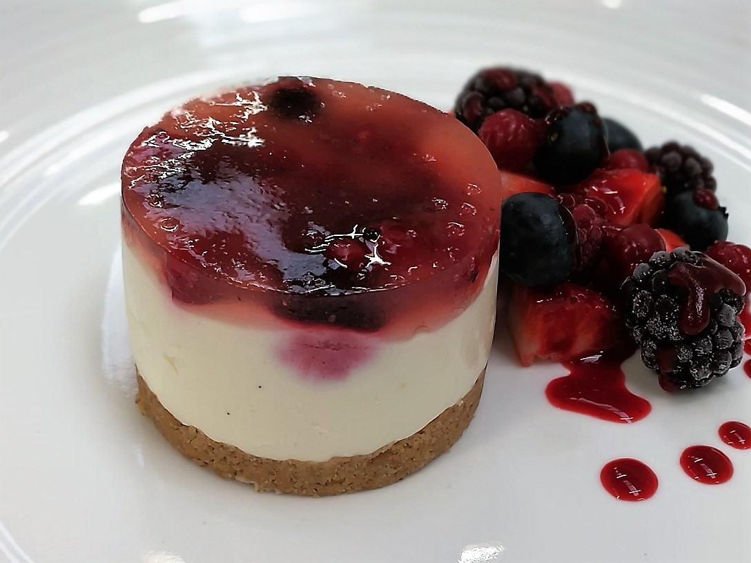 Fruit Of The Forest Cheesecake Indv  x 25