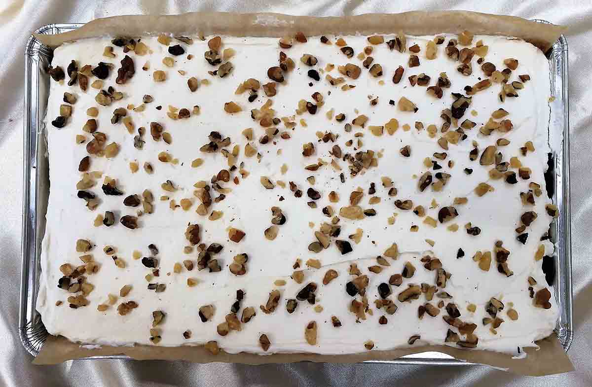 Carrot Cake Tray Bake