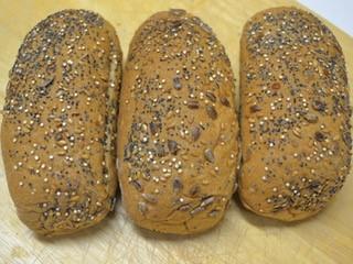 Gluten Free Seeded Sub Roll 3 x 100g