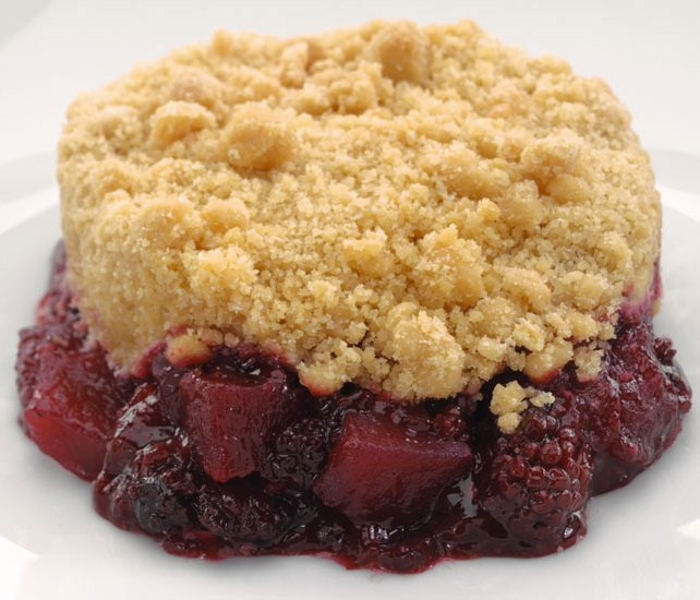 Sidoli Apple and Blackberry Crumble 12 x Ind