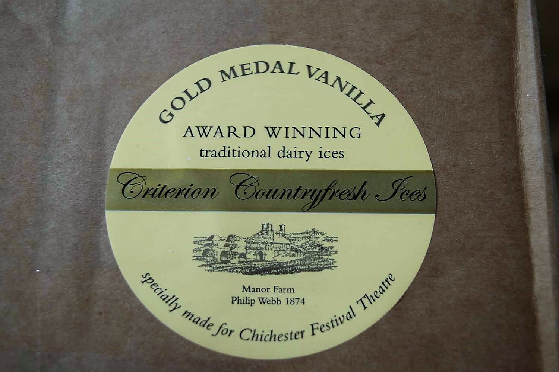 Criterion Vanilla  Ice Cream Tubs 120ml x 24