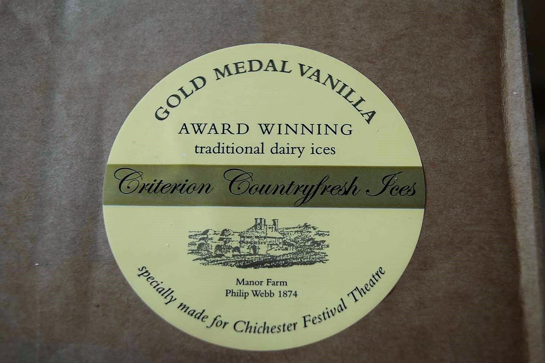 Criterion Vanilla Ice Cream Tubs 18 x 130ml