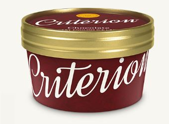 Criterion Chocolate Tubs Ice Cream 130ml x 18