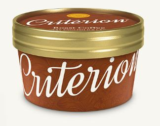Criterion Coffee Ice Cream Tubs 130ml x 18