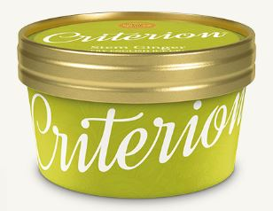 Criterion Stem Ginger Ice Cream 130ml x 18