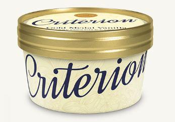Criterion Vanilla Ice Cream Tubs 130ml x 18