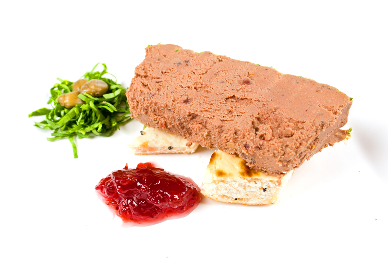 Chicken Liver Paté with Brandy, Port & Cranberries 454g
