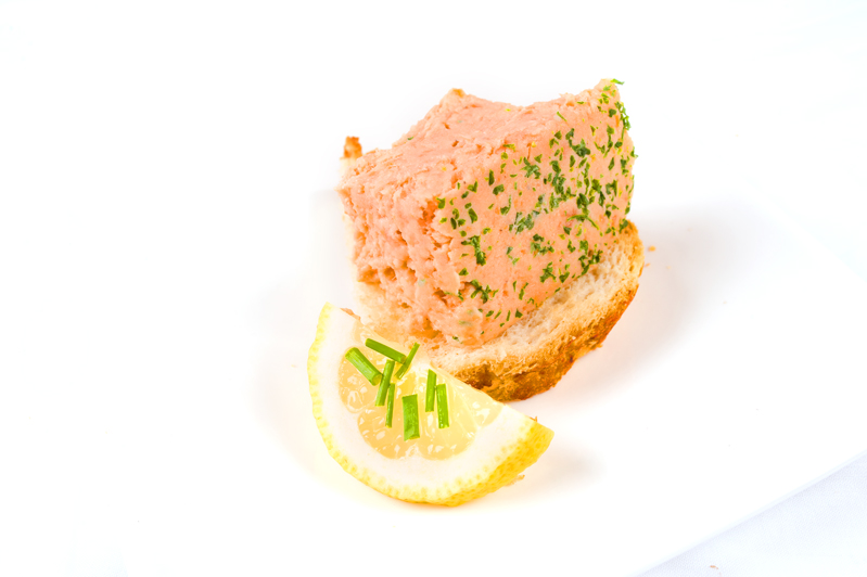 West Country Smoked Salmon Pate 454g
