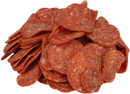 Frozen Pepperoni Pizza Topping 1kg