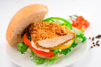 Southern Fried Chicken Fillet (average 18 pieces) 2kg