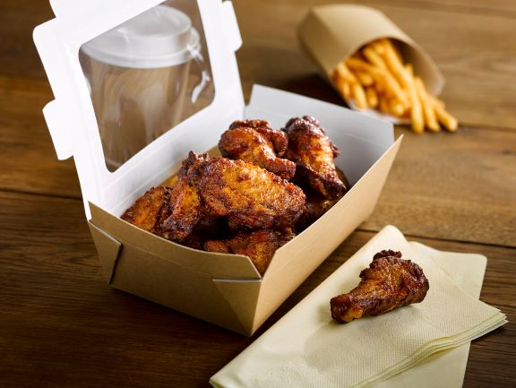 Golden Valley BBQ Chicken Wings 1kg