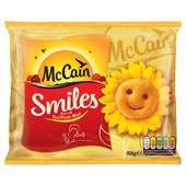 McCain Potato Smiles 1kg