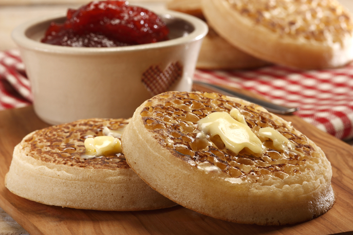 Traditional Crumpets 8 x 9