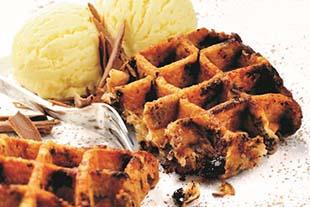 Chocolate Belgian Waffles 20 x 90g
