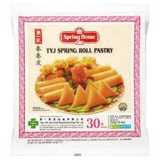 Spring Roll Pastry 10 30 Sheets 550g