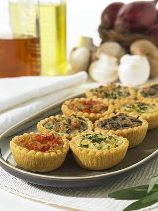 Mini Quiche Selection x 48