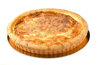 Whole Bacon & Cheese Quiche (Serves 12 - 14)
