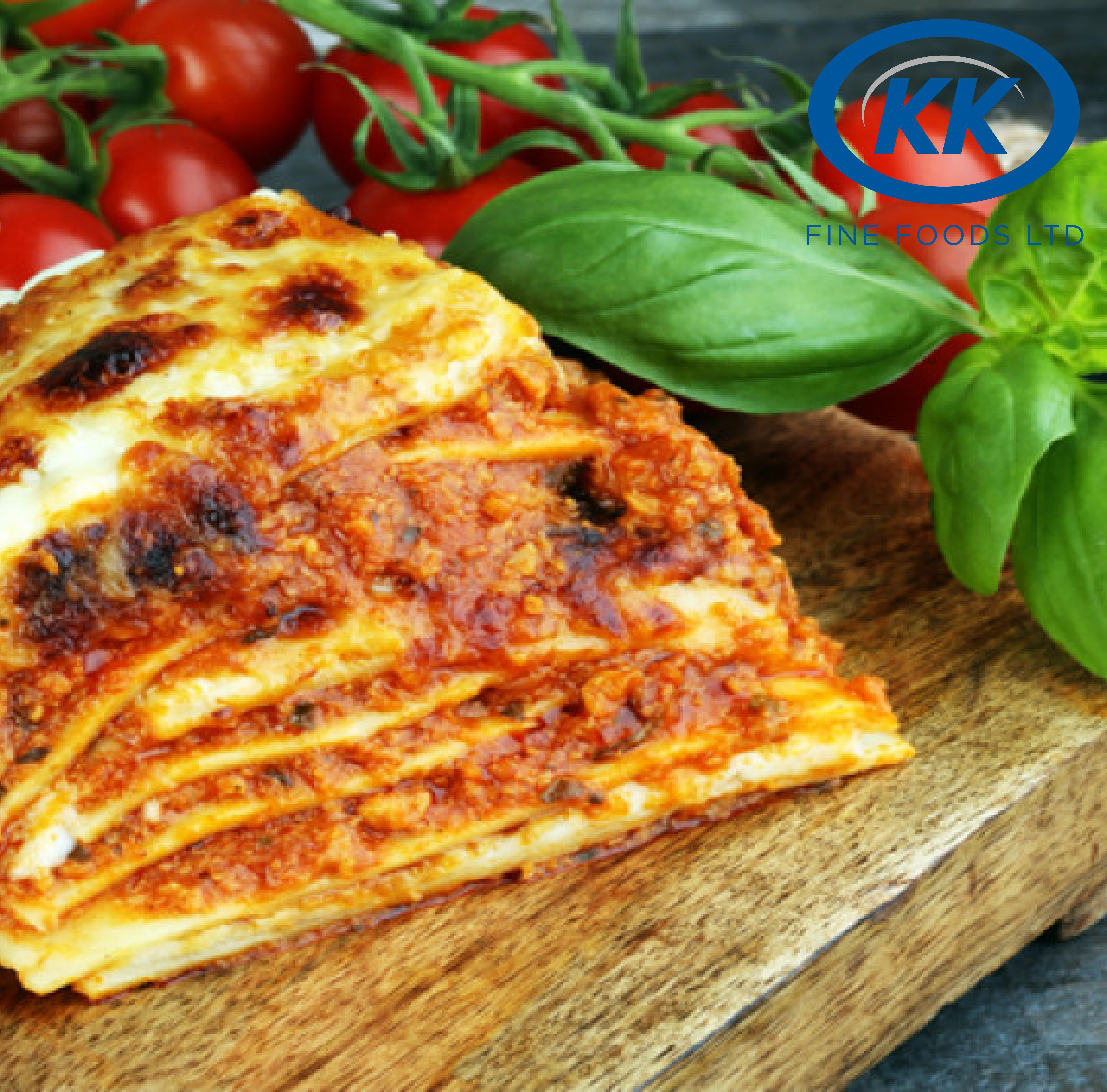 K.K Fine Foods Lasagne Al Forno 12 x 500g