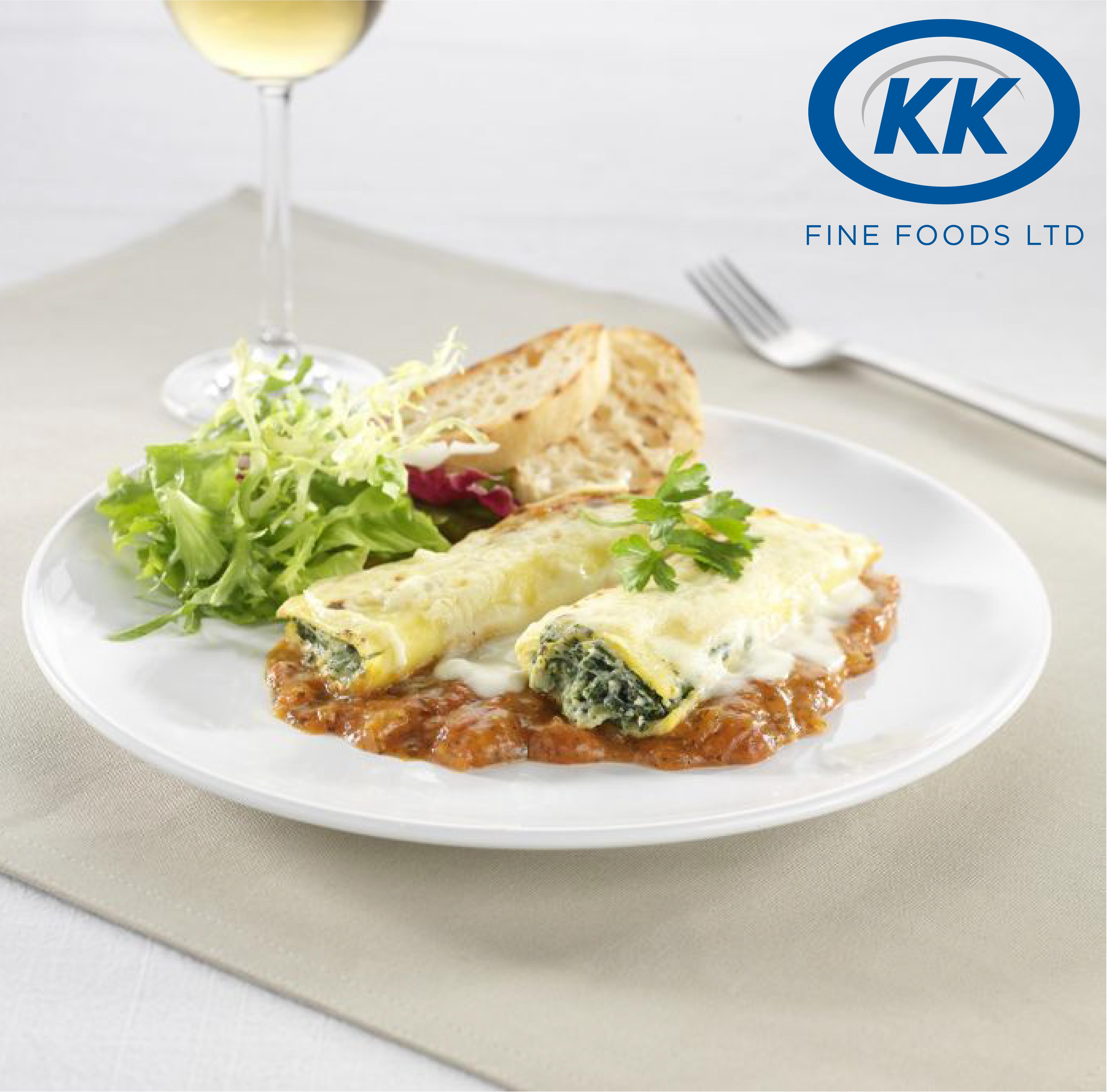 K.K Spinach and Ricotta Cannelloni 12 x 400g