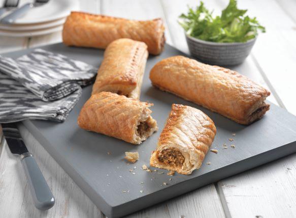 Proper Cornish 6 Vegan Sausage Rolls 132g x 50