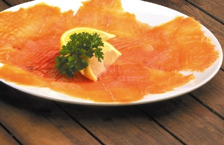 Sliced Smoked Salmon Side 1kg