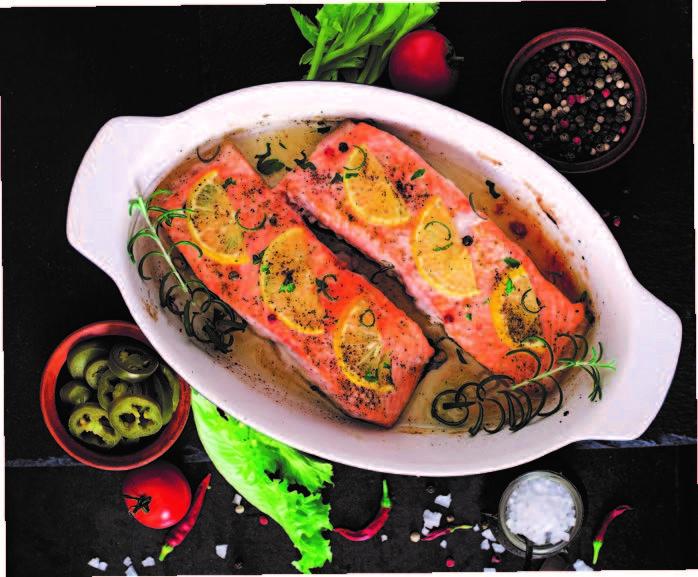 Salmon Fillets 5/6 ozl  x 10