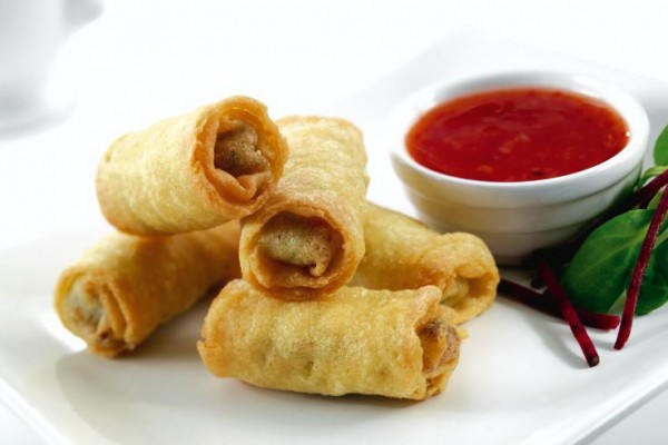 Daloon Vegetable Mini Spring Rolls 90 x 20g