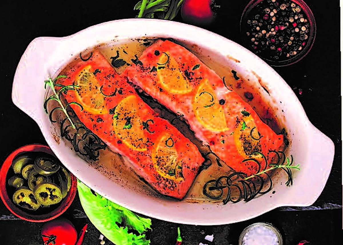 7/8oz Salmon Fillets x 10