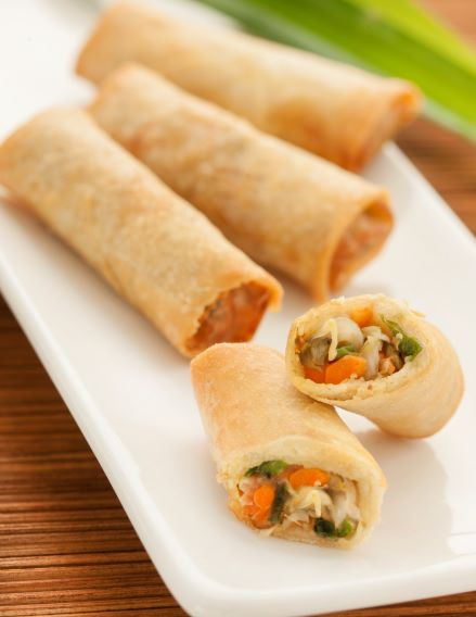 Vegetable Mini Spring Rolls 90 x 20g