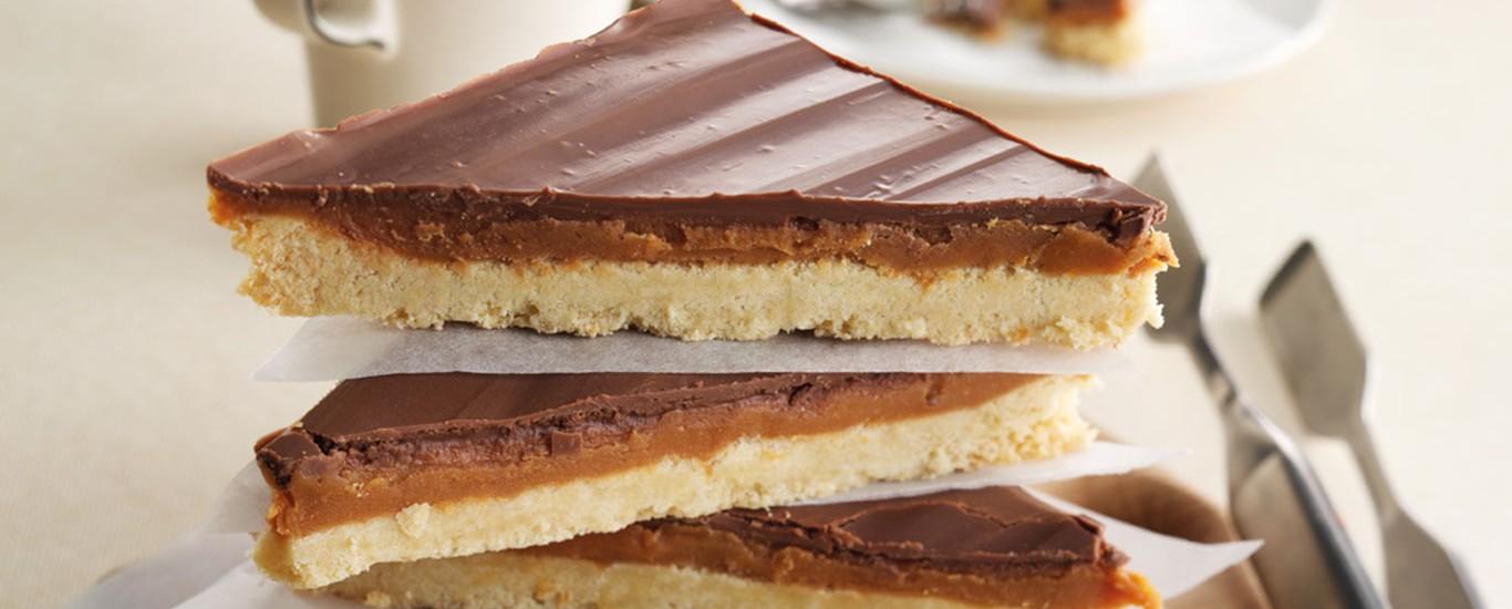 Sidoli Millionaires Caramel Shortcake 12  Presliced Portions