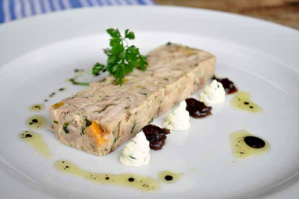 Toms Chicken & Apricot Terrine 3 x 500g