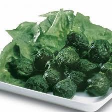 Leaf Spinach Portions Frozen 1kg