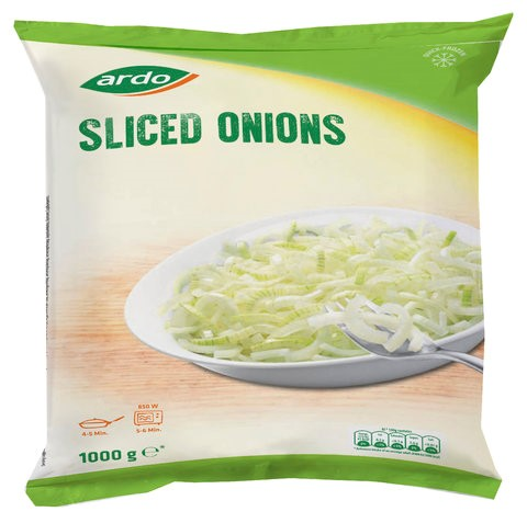 Sliced Onions Frozen 1kg